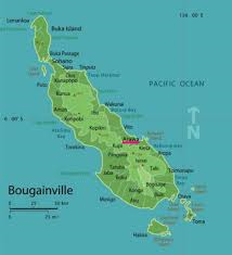 Map of Bougainville 1